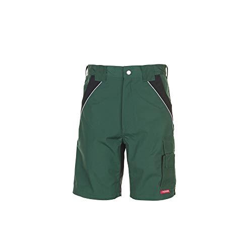 Größe XL Herren Planam Plaline Shorts grün schwarz Modell 2545