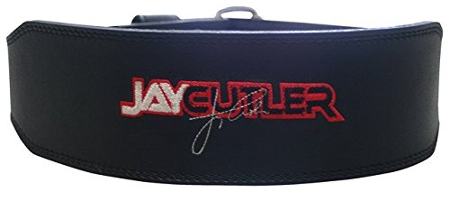 Schiek Sports S-J2014XL 4 in. Black Leather Jay Cutler Signature Belt-XL