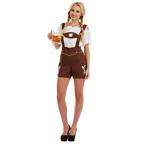 Fun Shack Damen Costume Kostüm Womens Bavarian Lederhosen m