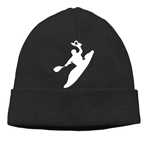 FFMMdogs Mens and Womens Skullies Beanies Rodeo Kayak Casual Skull Cap Sports & Outdoors Warm Hat Black