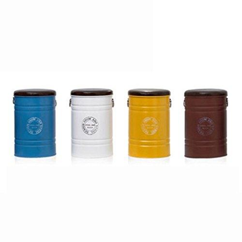 Hocker Lagerung ändern Schuhe Verhandeln Einfache Kleinen Esstisch Kaffeemaschine Sessel Finishing Europäische Box (Farbe : Gelb)