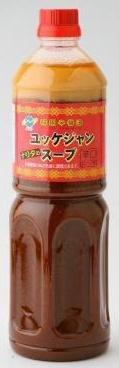 成家キムチ工房 国産ユッケジャンスープの素 1000ml×1本
