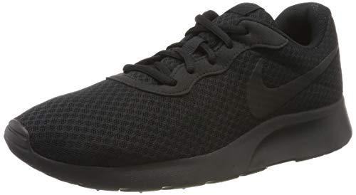 Nike TANJUN, Scarpe da Ginnastica Basse Uomo, Black (001 Black), 43 EU