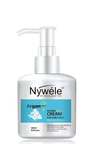 Nywele Argan Oil Intense Curl Cream 6.8 oz (200ml)