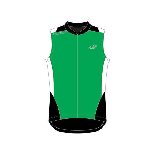 Hammerhead Hh3-Aero Elite, Camisa Sem Manga Para Ciclismo Homens, Verde/Branco/Preto M
