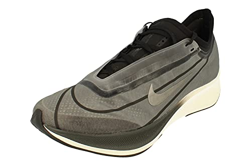 Nike Donne Zoom Fly 3 Running Trainers AT8241 Sneakers Scarpe (UK 7 US 9.5 EU 41, Dark Smoke Grey Metallic Pewter 001)