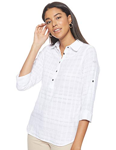 Columbia Summer Ease Popover Tunic Damen Hemd, White, M