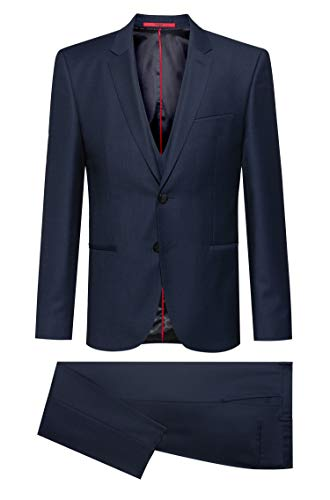 HUGO Mens Arti/Hesten203V1 Suit - Dress Set, Navy(419), 54