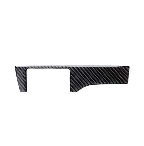 GUOLIANG Marco Interior de Fibra de Carbono para Coche Fibra de Carbono Faro Interruptor de botón Vinilo Decorativo del Interior del Coche Accesorios Modificación, for Honda Civic (2016-2019)