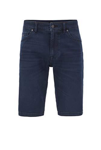 BOSS Herren Maine-shorts Bc-l-p Shorts, Blau (Dark Blue 401), 32W EU