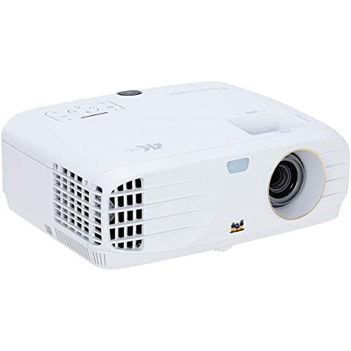 ViewSonic PX727-4K Proyector Cine en casa 4K UHD (2200 lúmenes, Rec. 709, HDMI, Compatible con HDR, Altavoces)- Blanco