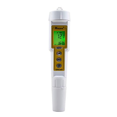 Diagnose-, Test- und Messwerkzeuge Pen Meter PH & Leitfähigkeitsmessgerät LCD-Anzeige mit PH und Temp 0 bis 14,0 pH / 0 bis 1999 US/cm für Erwachsene