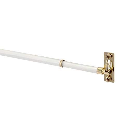 """Mainstay- White Sash Rod, 5/16"""" Diameter, (21-38"""", 2 Pack)"""