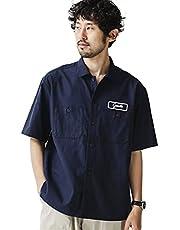 ナノ・ユニバース(nano・universe) カスタムワッペンワークシャツ