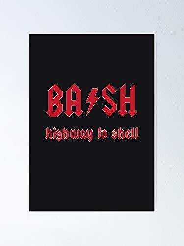 MCTEL Linux Bash - A-c-d-c Poster 11.7x16.5 Inch