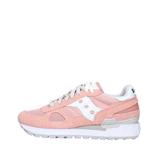 Saucony Shadow Original W, Scarpe da Running Donna, Multicolore Rose Grey, 37 EU