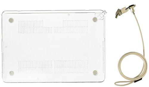 Maclocks Staffa di Bloccaggio per MacBook Pro Retina 13' e Cavo di Sicurezza, Trasparente
