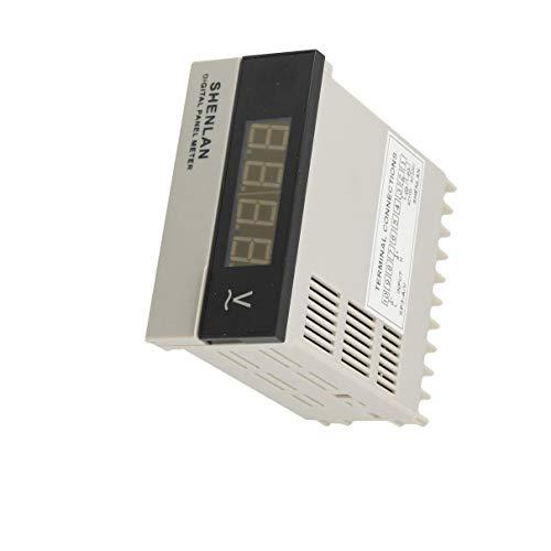 Aexit Red 3 1/2 LED Pantalla digital Volt Panel medidor (model: Y3409IV-4795ZD) AC 0-200V Voltímetro