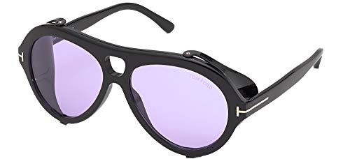 Tom Ford Gafas de Sol NEUGHMAN FT 0882 Shiny Black/Violet 60/15/145 hombre