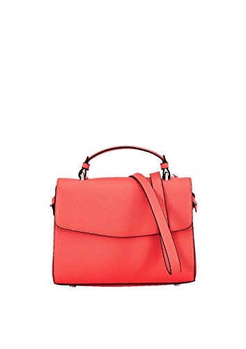 s.Oliver (Bags Damen 39.804.94.3336 Schultertasche, Rot (Scarlet), 8x20x25 cm