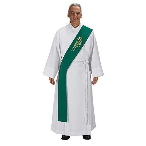 Alpha Omega Deacon Stole - Green