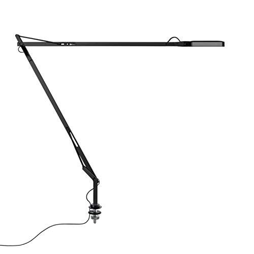 Lámpara de mesa con soporte y cable oculto, colección Kevin, led, 7,5W , 58,1 x 48 x 10 centímetros, color negro (referencia: F3309030)