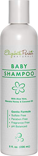 Cradle Cap Baby Shampoo - Hypoallergenic Shampoo with Gentle Formula for Dry & Itchy Scalp Relief - Natural & Organic with Manuka Honey and Coconut Oil -...