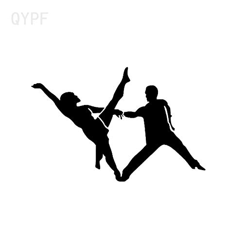 JXAA 14 * 9.2 Interessante Aerobic Gymnastik Tanzen Dekor Auto Aufkleber Vinyl Silhouette