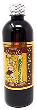 Usumacinta Pure Mexican Vanilla 16.8 Ounces Amber