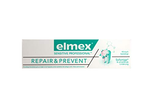 elmex SENSITIVE PROFESSIONAL REPAIR & PREVENT Zahnpasta 75ml Zahncreme
