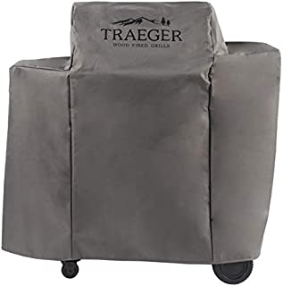 Traeger Pellet Grills BAC505 Ironwood 650 Full-Length Grill Covers, Gray