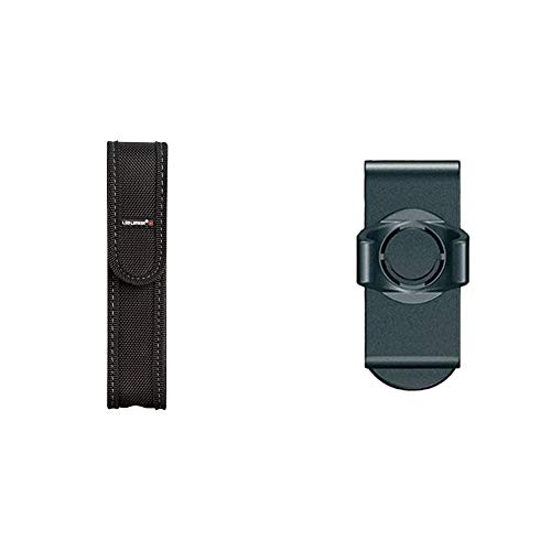 【セット買い】Ledlenser(レッドレンザー) ポーチ P7R/M7R用 [日本正規品] & インテリジェントクリップ P7用 [日本正規品]