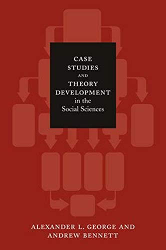 Compare Textbook Prices for Case Studies and Theory Development in the Social Sciences Belfer Center Studies in International Security Illustrated Edition ISBN 0000262572222 by George, Alexander L.,Bennett, Andrew