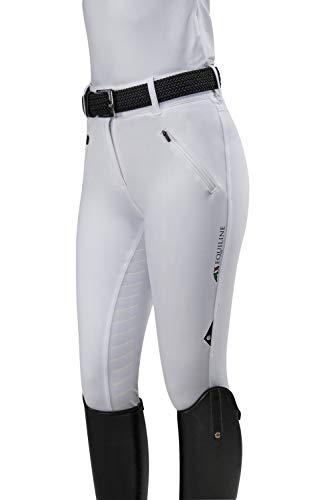 Equiline Damen Reithose CORREZETT TeamCol.20 Farbe Reitbekleidung weiß, Größen 38
