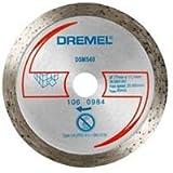 Dremel DSM540 - Disco de corte de diamante, accesorio para sierra circular con 20 mm de profundidad de corte para herramienta DSM20 para cortar ladrillo, cerámica, azulejos, mármol