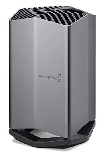 Blackmagic eGPU Thunderbolt 3 RX580 - Externe Grafikkarte für Apple MacBook Pro