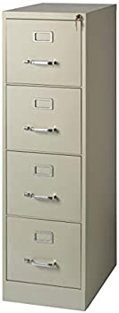 Realspace 22 Inch D Vertical 4-Drawer File Cabinet