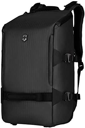 Victorinox VX Touring Utility Backpack with Water Resistant Zippers Black 19 3 inch product image