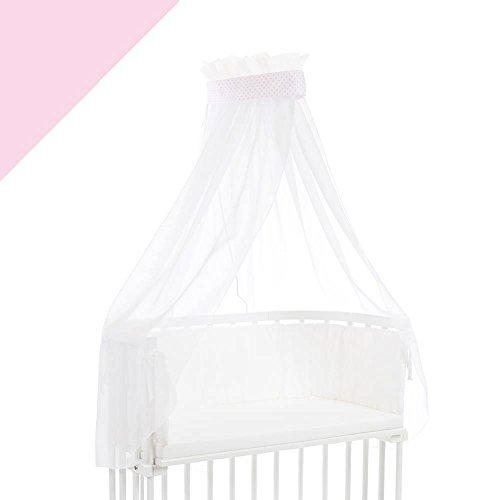 Babybay Ciel de lit rose clair pour lit Berceau cododo Babybay