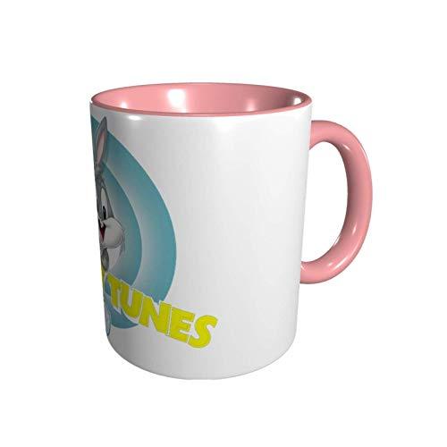 Hdadwy Bu_gs B_un-ny Protección del medio ambiente Geek Cup para empalme de oficina Tazas rojas