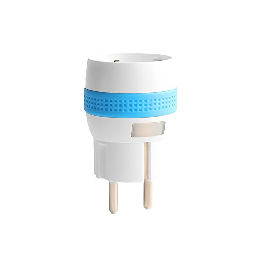 Nodon MSP-3-1-10 Smart Plug, schakel- en meetcontactdoos, type F (Schuko)), wit