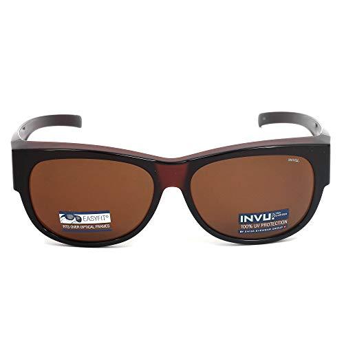 INVU Sonnenbrille EasyFit, braun(transpbraunkupfer), Gr. -