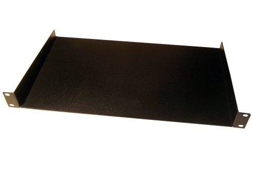 deetech RH01-1HE Rackwanne/Einbauwanne für Flightcases, Stahl, schwarz