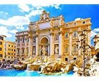 Fontana di Trevi Scene Backdrop 7X5FT Laeacco Vinyl Thin Photography Background Trevi Fountain Rome Italy Ancient Art Port...
