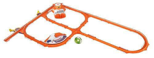 Mattel Y0569 - Pista automobilistica Hot Wheels Spinshotz Super Boost Spinway