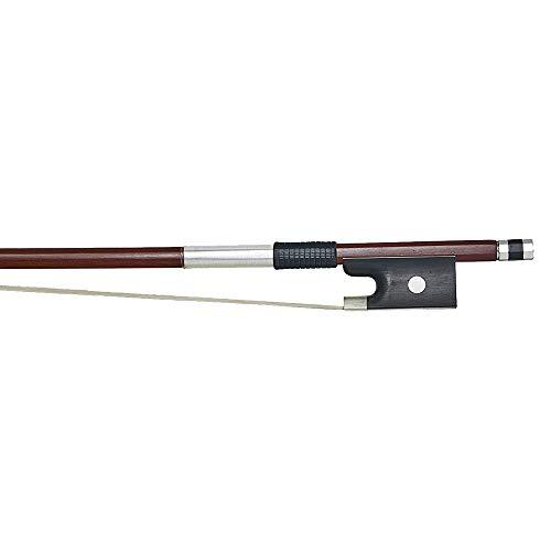 Stentor 4/4 Full Size Student Violin, Brazilian Wood Bow, Half Mounted Ebony Frog