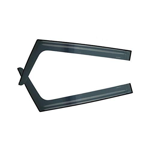 AUTEX 2Pcs Tape On Window Visor Compatible with Fj Cruiser 2008 2009 2010 2011 2012 2013 2014 Sun Rain Window Deflector Guard
