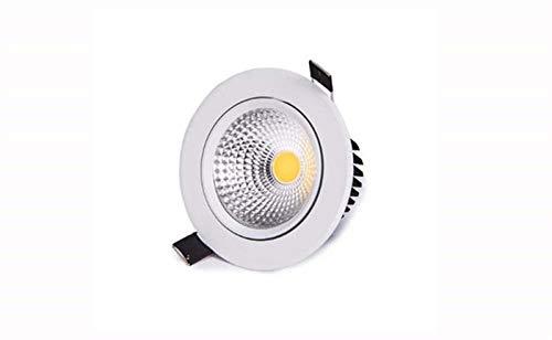 5 x Power SMD LED Deckenleuchten Einbaustrahler Downlight Set 230V GU10 3W=35W