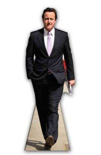 Starstills UK Celebrity Fan Packs David Cameron - British - Conservative Politician/Party Leader - LIFESIZE Cardboard Cutout