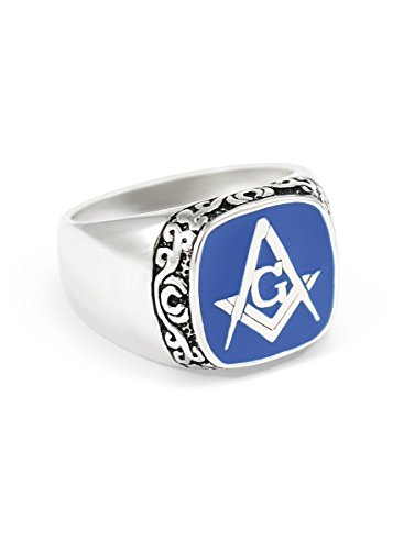 masonic ring blue